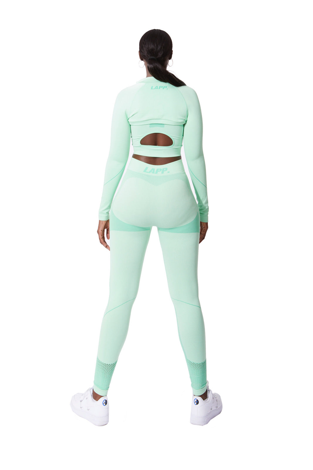 Seamless cropped jacket [3M/ Mint]
