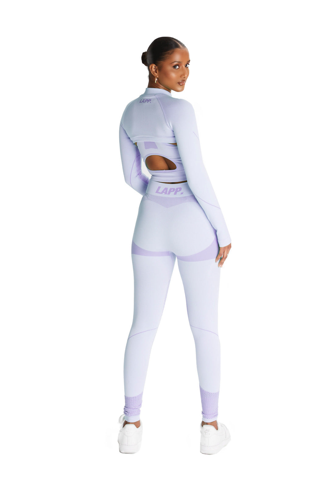 Seamless cropped jacket [3M/ Lavender]
