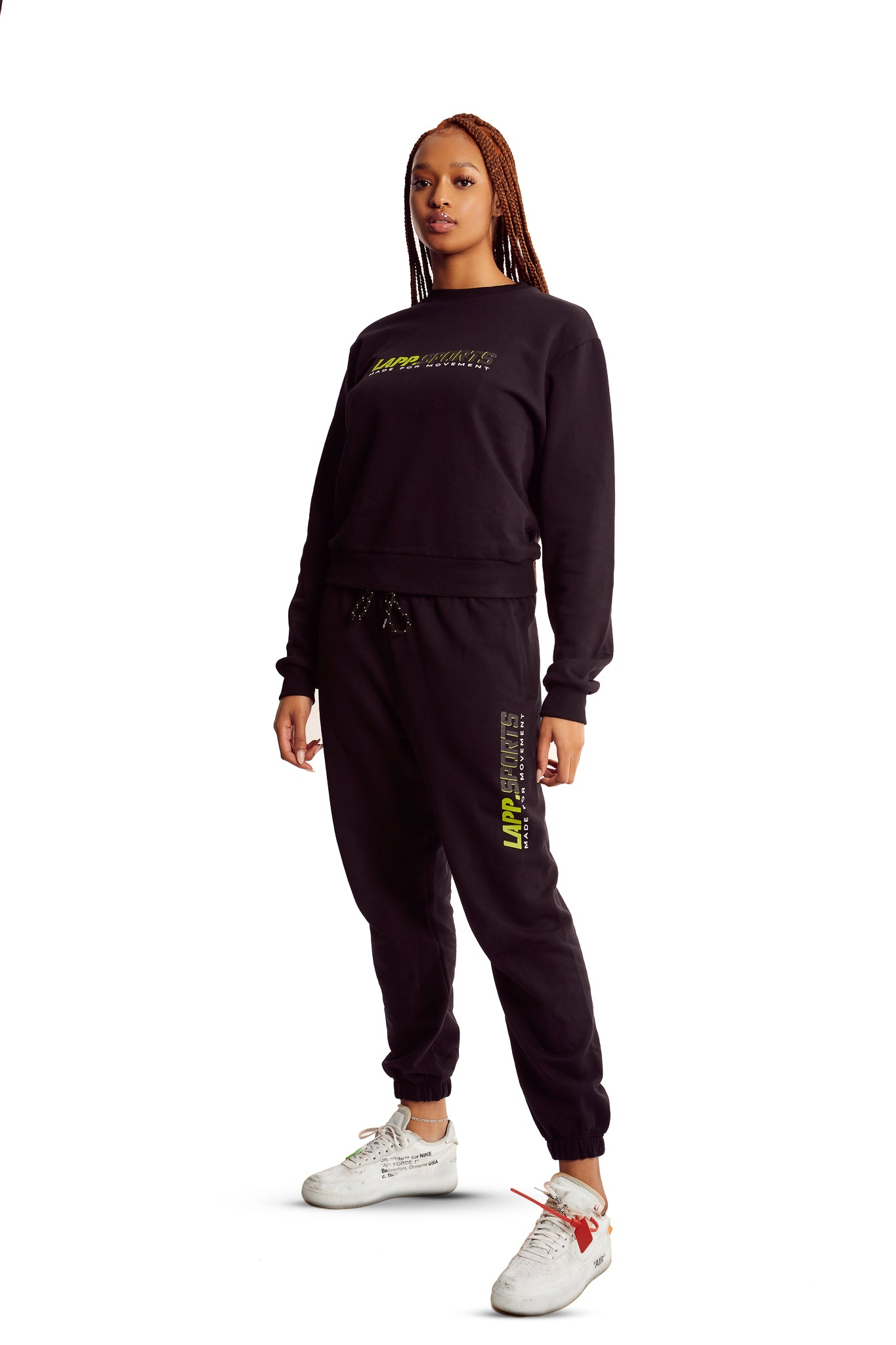 LAPP Sports track bottoms [Black]