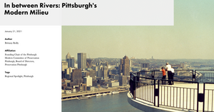 Modern Matters in Pittsburgh