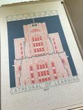 Cathedral of Learning - 1937 Orange Digital Print