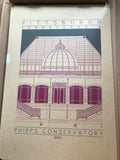 Phipps Conservatory - 1893 Purple Digital Print
