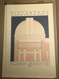 Allegheny Observatory - 1912 Orange Digital Print