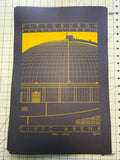 Civic Arena - 1961 - 2012 Screen Print