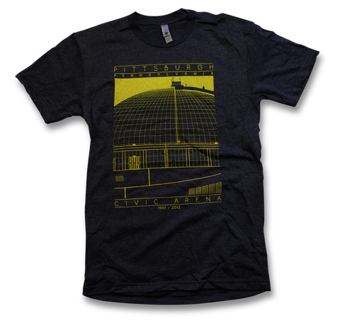 Civic Arena Screen Printed T-Shirt
