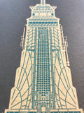 Empire State Building - 1931 Green Digital Print