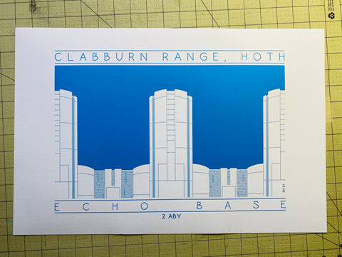 Echo Base - 2 ABY Blue Digital Print