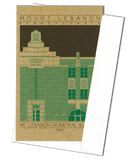 Mount Lebanon Municipal Building - 1930 Green Miniature Digital Print