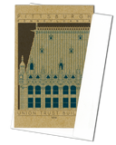 Union Trust Building - 1916 Blue Miniature Digital Print