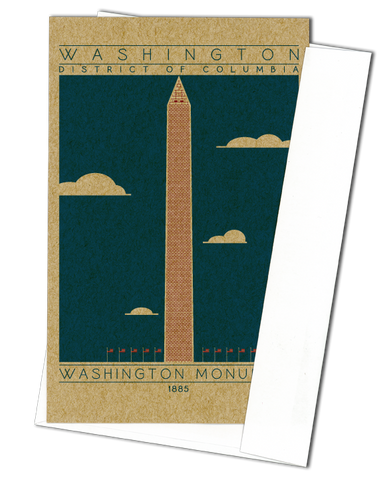 Washington Monument - 1885 USA Miniature Digital Print