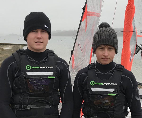 Aled Llewellyn-Jones and Ben Willet - NeilPryde Sailing Team Riders