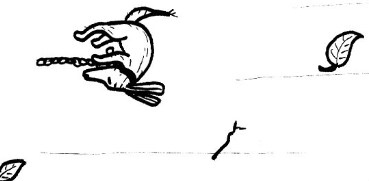 cartoon of dog being blown away by wind