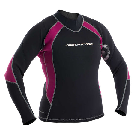 Womens Elite Firewire 3mm Top