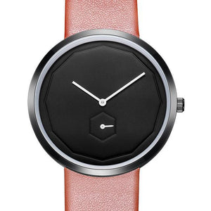 Four Three Three - Rose Red Women's Simple Minimalist Minimal Watch and Watchface - Horizon Ave