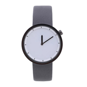 Valkyrie - Women's Round Dial Leather Waterproof Minimalist Watch - Horizon Ave.