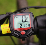 15 Function Waterproof Bicycle Computer with Speedometer, Odometer, Watch, etc. - LogicInside
