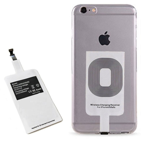 Wireless Charging Receiver for All iPhones - Upgrade Your Mobile to Charge Wireless - LogicInside