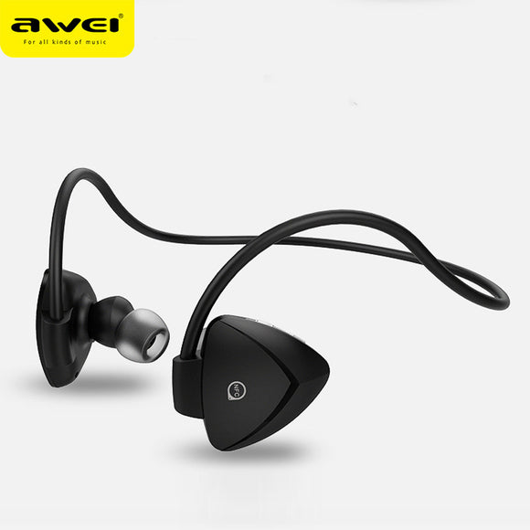 awei A840BL : Waterproof Sport Bluetooth Headset with Noise Isolation & NFC Function - LogicInside