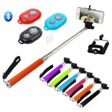 High Quality Selfie Stick With Bluetooth Remote Control Shutter - LogicInside