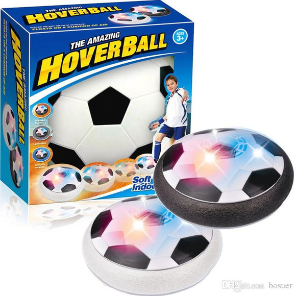 Air Power Hoverball with Foam Bumpers and LED Lights (Color May Vary) - LogicInside