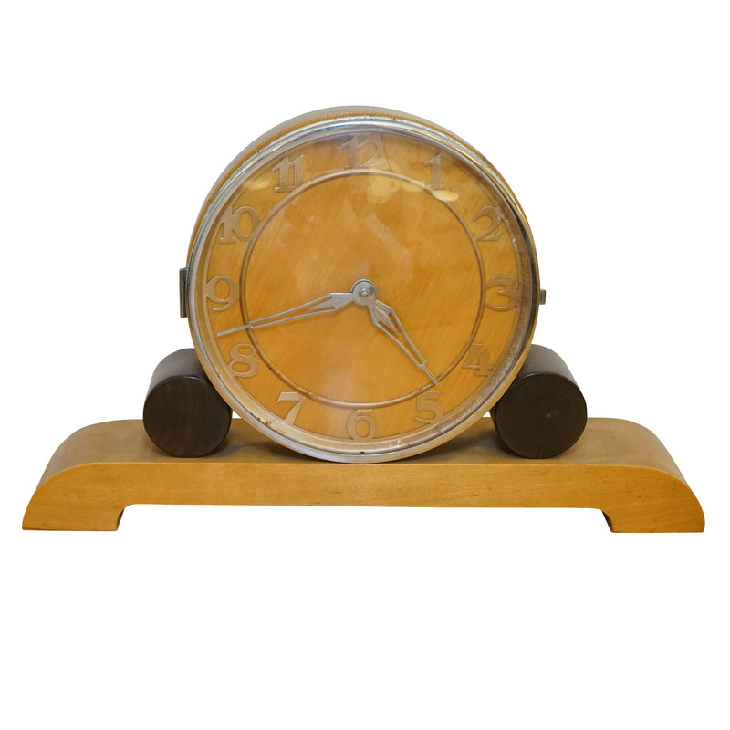 Bauhaus Mantle Clock, Sweden 1930.