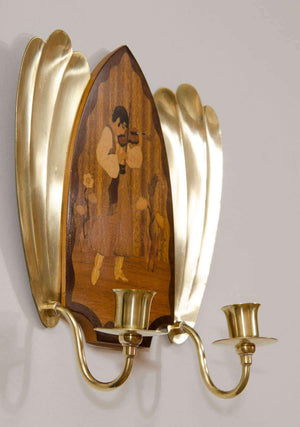 Art Deco Sconces, Sweden 1910