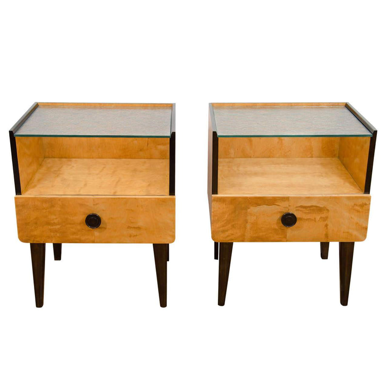 Art Deco Nightstands, ca. 1940