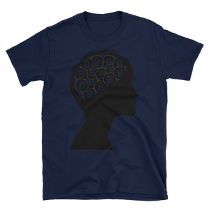 Bitcoin in My Mind Short-Sleeve Unisex T-Shirt