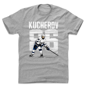 Nikita Kucherov Men's Cotton T-Shirt | 500 LEVEL