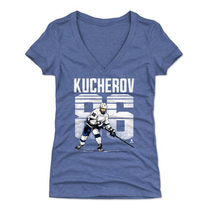 Nikita Kucherov Women's V-Neck T-Shirt | 500 LEVEL