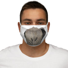 Load image into Gallery viewer, Elephant Rump Snug-Fit Polyester Face Mask
