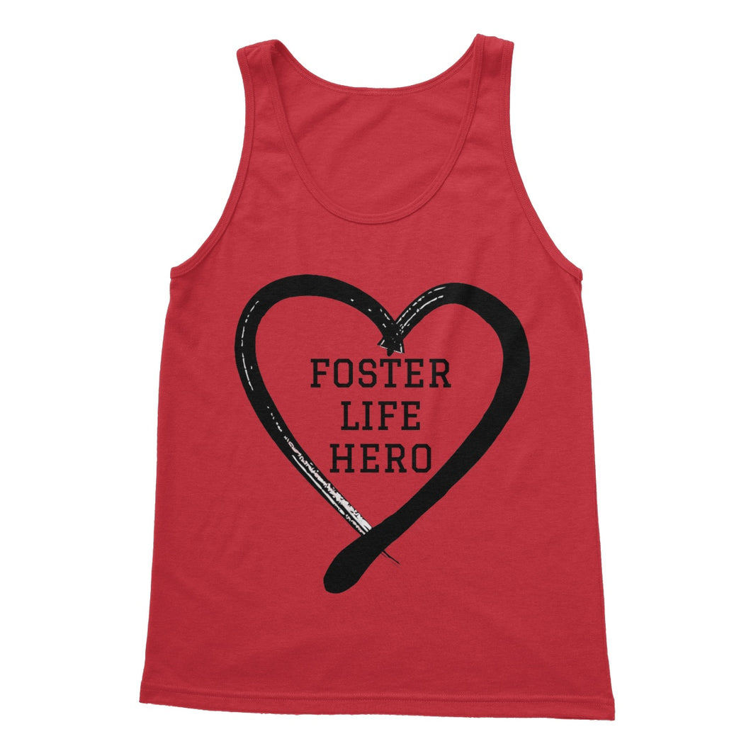 Foster Life Hero Softstyle Tank Top