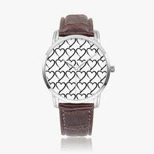 Load image into Gallery viewer, Foster Life Hero Heart Instafamous Wide Type Quartz Watch