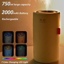 Load image into Gallery viewer, Rechargeable USB Humidifier