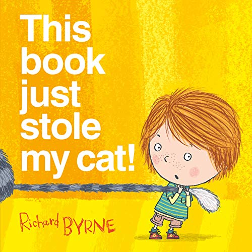 This book just stole my cat!