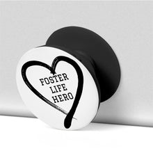 Load image into Gallery viewer, Foster Life Hero Collapsible Grip And Stand for Phones & Tablets
