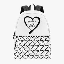 Load image into Gallery viewer, Foster Life Hero Canvas Backpack