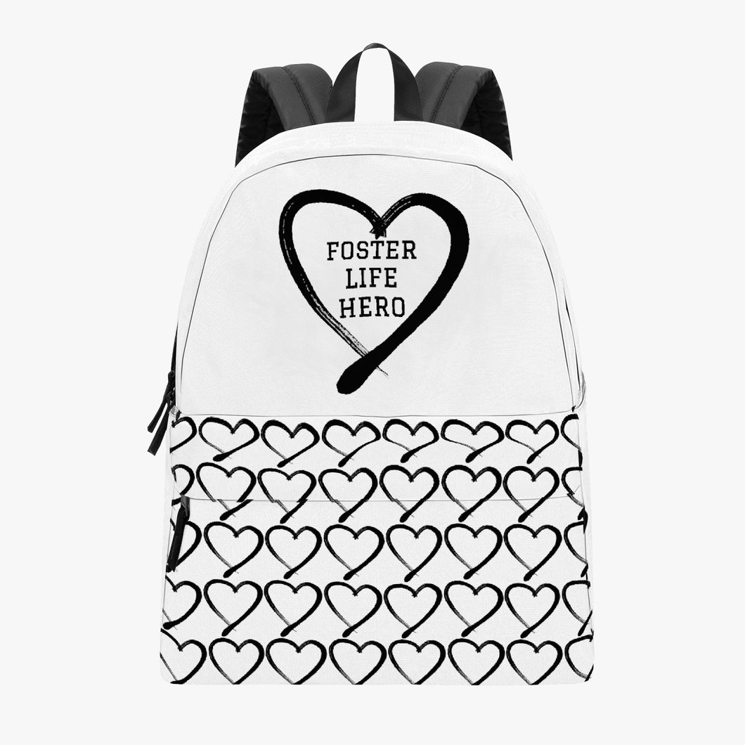 Foster Life Hero Canvas Backpack