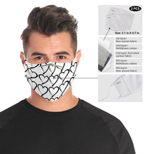 Load image into Gallery viewer, Foster Life Hero Heart Cloth Face Mask For Adults