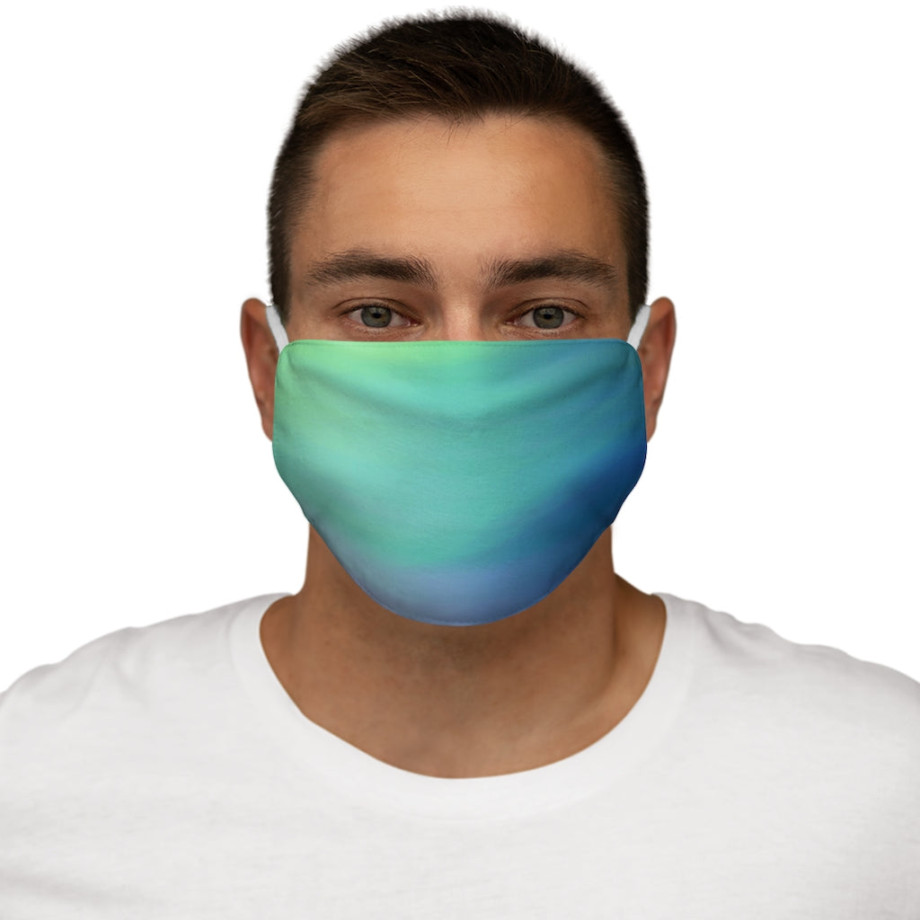 Ocean Snug-Fit Polyester Face Mask