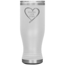 Load image into Gallery viewer, Foster Life Hero Boho 20oz Tumbler