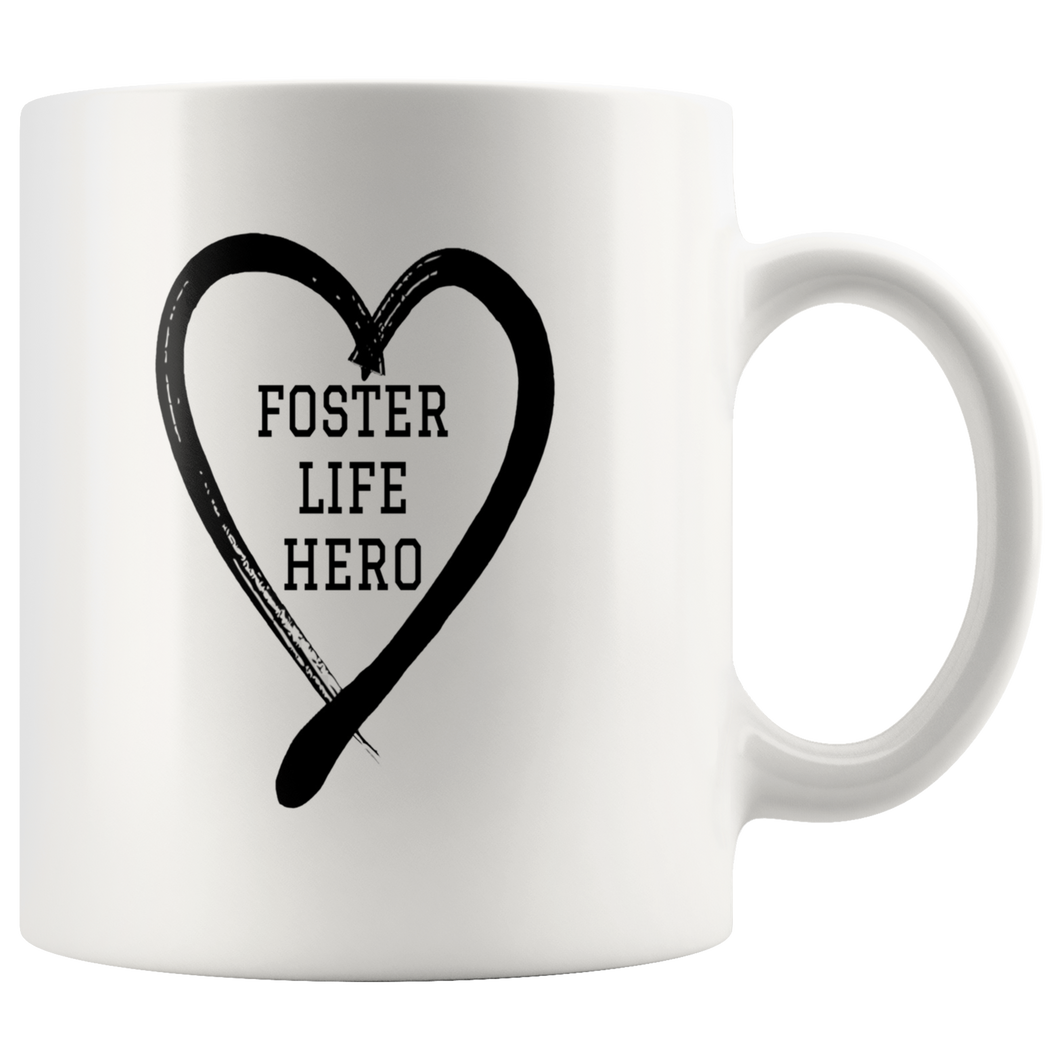 Foster Life Hero Coffee Cups