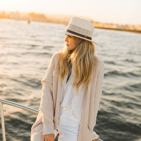 Milan Straw Fedora by American Hat Makers