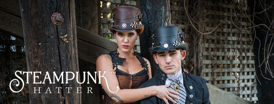 Steampunk Hatter Hats From Head'n Home American Hat Makers