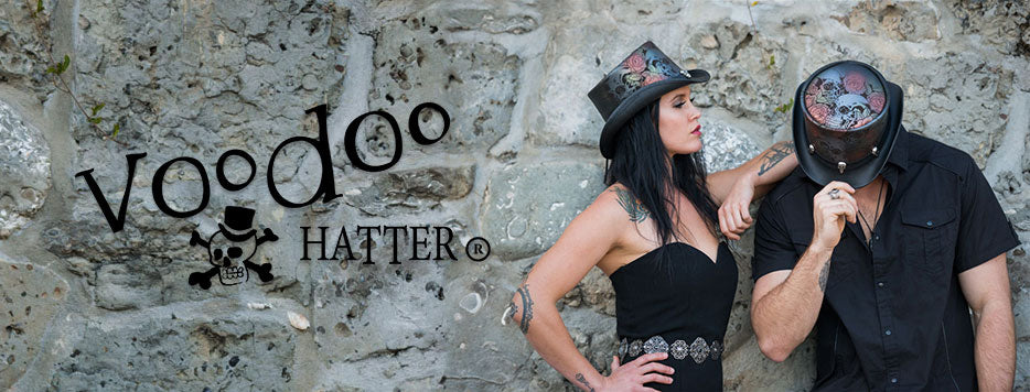 Voodoo Hatter Hats From Head'n Home & American Hat Makers