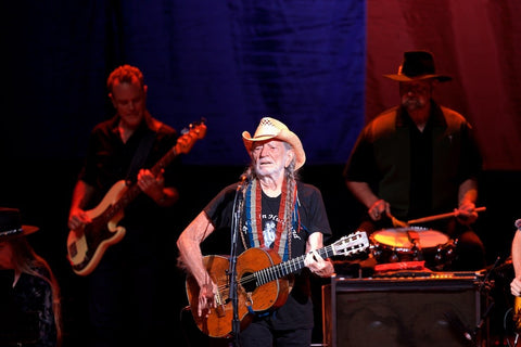Willie Nelson at the Outlaw Music Festival Tour