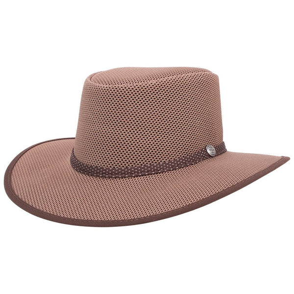 Cabana Walnut Mesh sun hat Mesh American Hat Makers