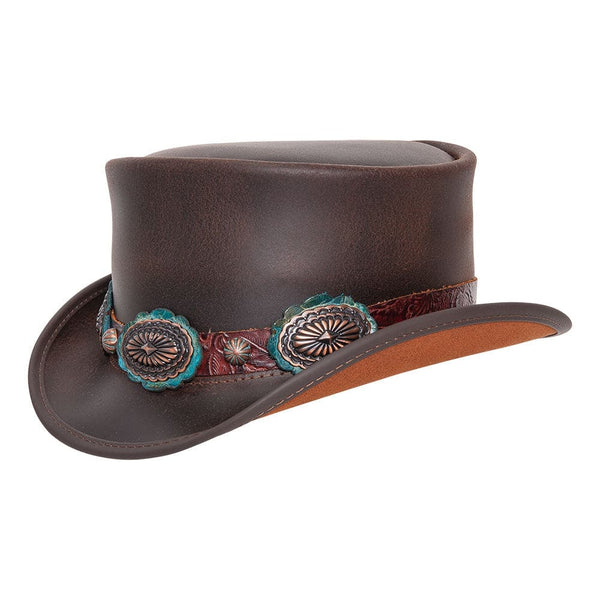 The Marlow Bronze Oval Top Hat
