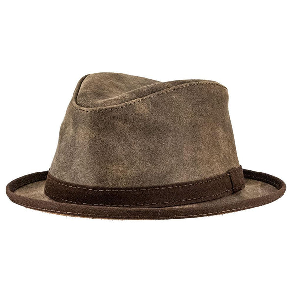 The Soho Leather Fedora