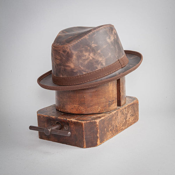 Soho Leather Fedora - Head'n Home